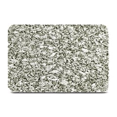 Black And White Abstract Texture Plate Mats