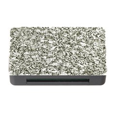 Black And White Abstract Texture Memory Card Reader With Cf