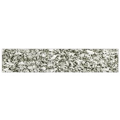 Black And White Abstract Texture Flano Scarf (small)