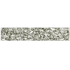 Black And White Abstract Texture Flano Scarf (large)
