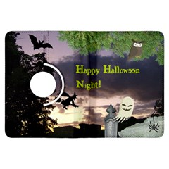 Happy Halloween Night Witch Flying Kindle Fire Hdx Flip 360 Case