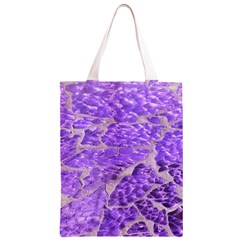 Festive Chic Purple Stone Glitter  Classic Light Tote Bag