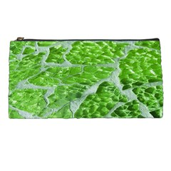 Festive Chic Green Glitter Shiny Glamour Sparkles Pencil Cases