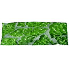 Festive Chic Green Glitter Shiny Glamour Sparkles Body Pillow Case (Dakimakura)