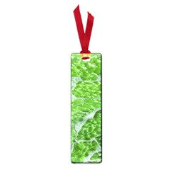 Festive Chic Green Glitter Shiny Glamour Sparkles Small Book Marks