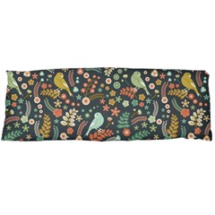 Vintage Flowers And Birds Pattern Body Pillow Case Dakimakura (Two Sides)