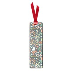 Vintage Flowers And Birds Pattern Small Book Marks