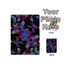 Stylized Geometric Floral Ornate Playing Cards 54 (mini)