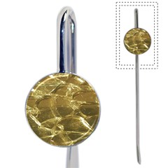 Gold Bar Golden Chic Festive Sparkling Gold  Book Mark