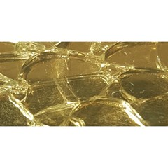 Gold Bar Golden Chic Festive Sparkling Gold  YOU ARE INVITED 3D Greeting Card (8x4)