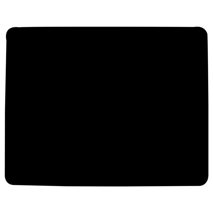 Solid Black Jigsaw Puzzle Photo Stand (Rectangular)