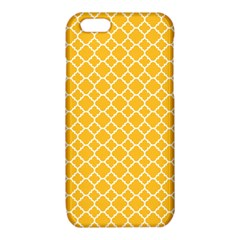 Sunny yellow quatrefoil pattern iPhone 6/6S TPU Case