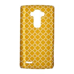 Sunny Yellow Quatrefoil Pattern Lg G4 Hardshell Case