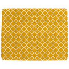 Sunny yellow quatrefoil pattern Jigsaw Puzzle Photo Stand (Rectangular)