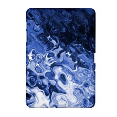 Blue Waves Abstract Art Samsung Galaxy Tab 2 (10.1 ) P5100 Hardshell Case