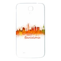 Barcelona City Art Samsung Galaxy Mega I9200 Hardshell Back Case