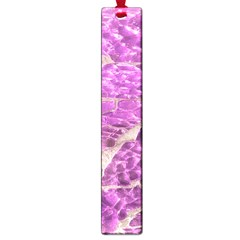 Festive Chic Pink Glitter Stone Large Book Marks