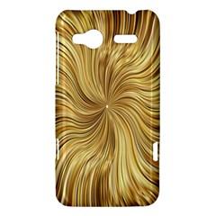 Chic Festive Elegant Gold Stripes HTC Radar Hardshell Case