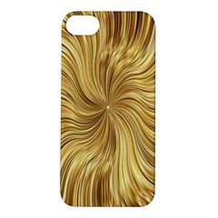 Chic Festive Elegant Gold Stripes Apple iPhone 5S/ SE Hardshell Case