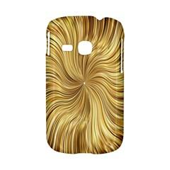 Chic Festive Elegant Gold Stripes Samsung Galaxy S6310 Hardshell Case
