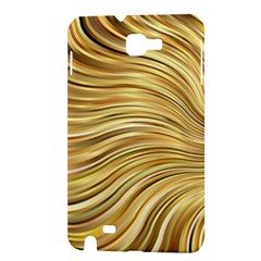 Chic Festive Gold Brown Glitter Stripes Samsung Galaxy Note 1 Hardshell Case