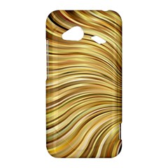 Chic Festive Gold Brown Glitter Stripes HTC Droid Incredible 4G LTE Hardshell Case