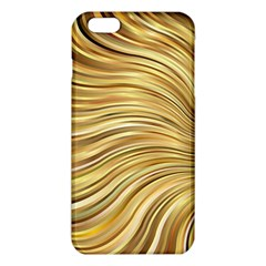 Chic Festive Gold Brown Glitter Stripes Iphone 6 Plus/6s Plus Tpu Case