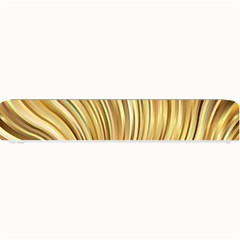 Gold Stripes Festive Flowing Flame  Small Bar Mats