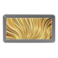 Gold Stripes Festive Flowing Flame  Memory Card Reader (Mini)