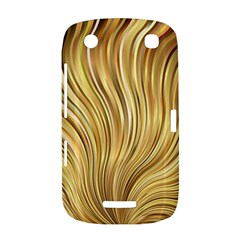 Gold Stripes Festive Flowing Flame  BlackBerry Curve 9380