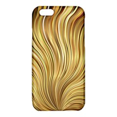 Gold Stripes Festive Flowing Flame  iPhone 6/6S TPU Case