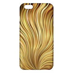 Gold Stripes Festive Flowing Flame  Iphone 6 Plus/6s Plus Tpu Case