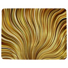 Gold Stripes Festive Flowing Flame  Jigsaw Puzzle Photo Stand (rectangular)