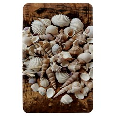 Tropical Sea Shells Collection, Copper Background Kindle Fire (1st Gen) Hardshell Case