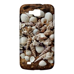 Tropical Sea Shells Collection, Copper Background Samsung Galaxy Premier I9260 Hardshell Case