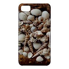 Tropical Sea Shells Collection, Copper Background BlackBerry Z10