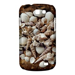 Tropical Sea Shells Collection, Copper Background Samsung Galaxy Express I8730 Hardshell Case
