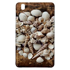 Tropical Sea Shells Collection, Copper Background Samsung Galaxy Tab Pro 8.4 Hardshell Case