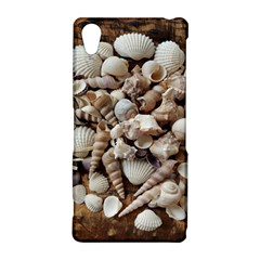 Tropical Sea Shells Collection, Copper Background Sony Xperia Z2