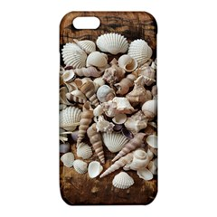 Tropical Sea Shells Collection, Copper Background iPhone 6/6S TPU Case