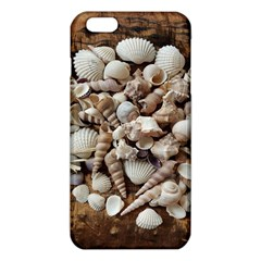 Tropical Sea Shells Collection, Copper Background Iphone 6 Plus/6s Plus Tpu Case