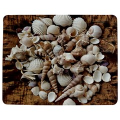 Tropical Sea Shells Collection, Copper Background Jigsaw Puzzle Photo Stand (Rectangular)