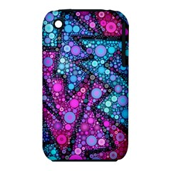 Blues Bubble Love Apple iPhone 3G/3GS Hardshell Case (PC+Silicone)