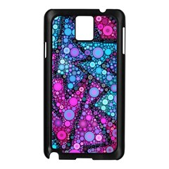 Blues Bubble Love Samsung Galaxy Note 3 N9005 Case (Black)