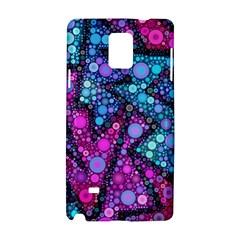Blues Bubble Love Samsung Galaxy Note 4 Hardshell Case