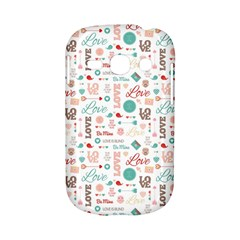 Lovely Valentine s Day Pattern Samsung Galaxy S6810 Hardshell Case
