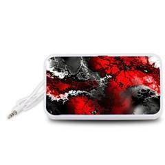 Amazing Fractal 25 Portable Speaker (White)