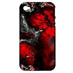 Amazing Fractal 25 Apple iPhone 4/4S Hardshell Case (PC+Silicone)