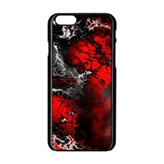 Amazing Fractal 25 Apple iPhone 6/6S Black Enamel Case