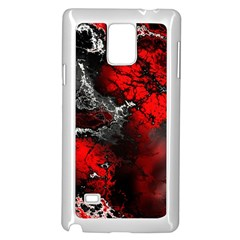 Amazing Fractal 25 Samsung Galaxy Note 4 Case (White)
